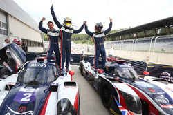 #2 United Autosports, Ligier JS P3 - Nissan: John Falb, Sean Rayhall and #32 United Autosports, Ligier JSP217 - Gibson: William Owen, Hugo de Sadeleer, Filipe Albuquerque