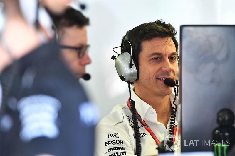Toto Wolff, Mercedes AMG F1 W08 Director ejecutivo