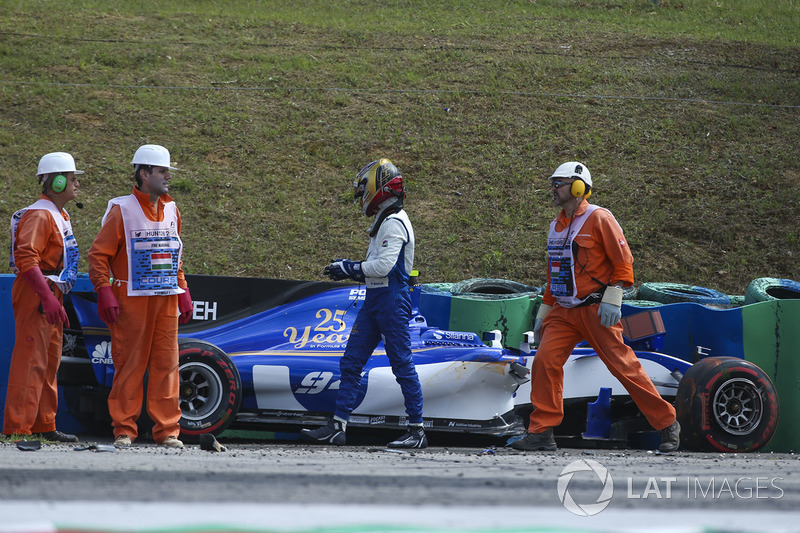 Pascal Wehrlein, Sauber C36 (3 abandonos)