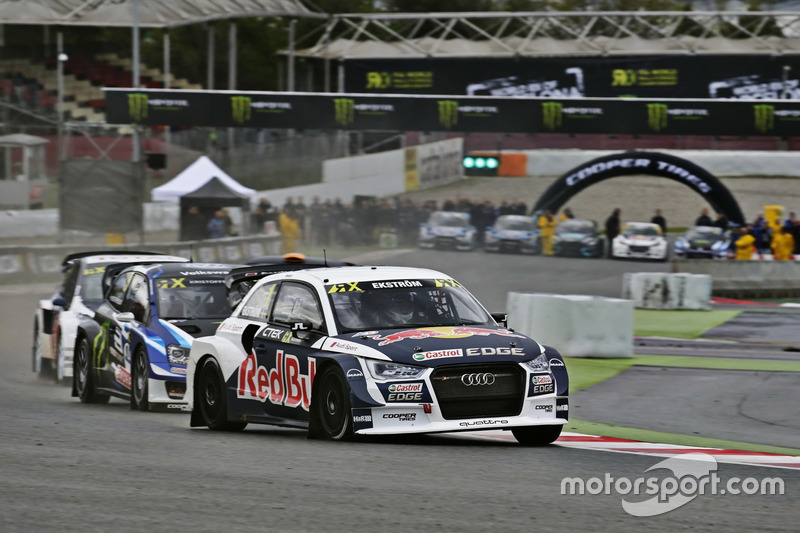 mattias ekstr m eks audi s1 eks rx quattro barcelone photos world rallycross. Black Bedroom Furniture Sets. Home Design Ideas