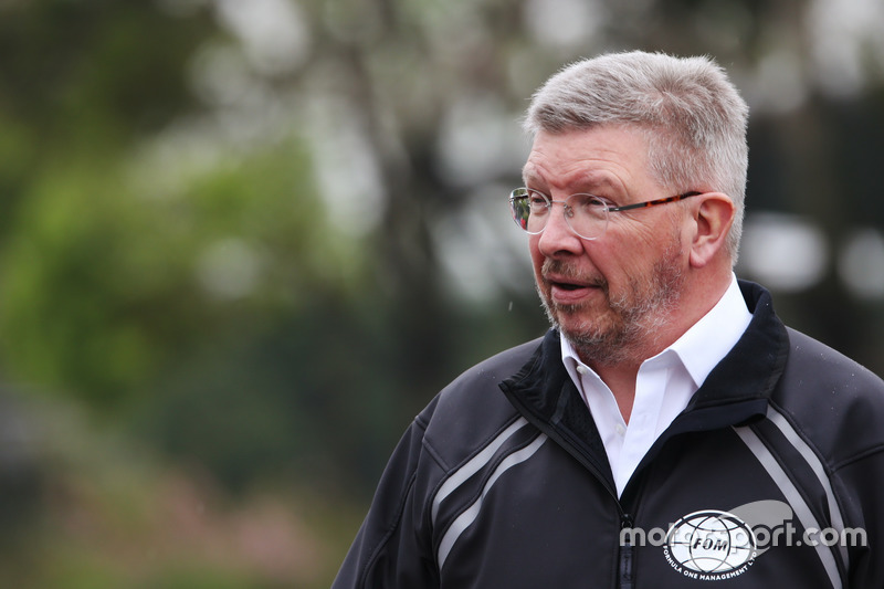 Ross Brawn, director deportivo de la F1, FOM