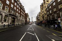 Una vista de calle de Whitehall