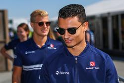 Marcus Ericsson, Sauber et Pascal Wehrlein, Sauber