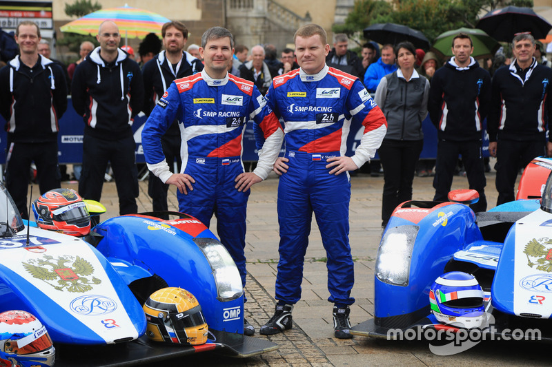 #37 SMP Racing BR01 Nissan: Віктор Шайтар, Кирило Ладигін