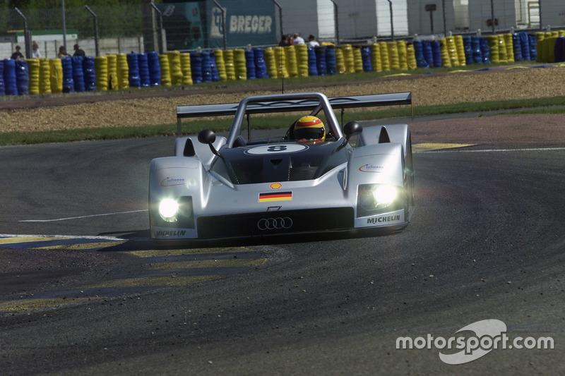 El Audi R8R de Frank Biela, Didier They y Emanuele Pirro en 1999