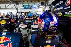 Triple Eight Race Engineering Holden garage atmosphere