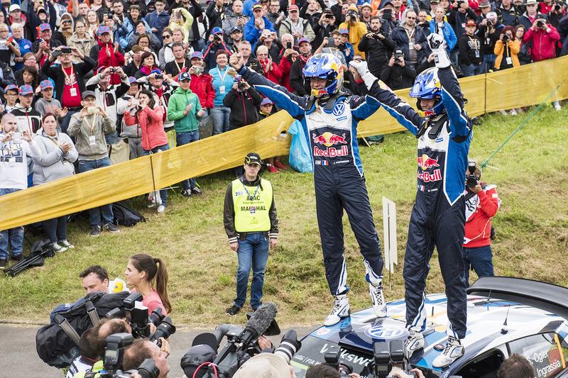 Sieger: Sébastien Ogier, Julien Ingrassia, Volkswagen Polo WRC, Volkswagen Motorsport