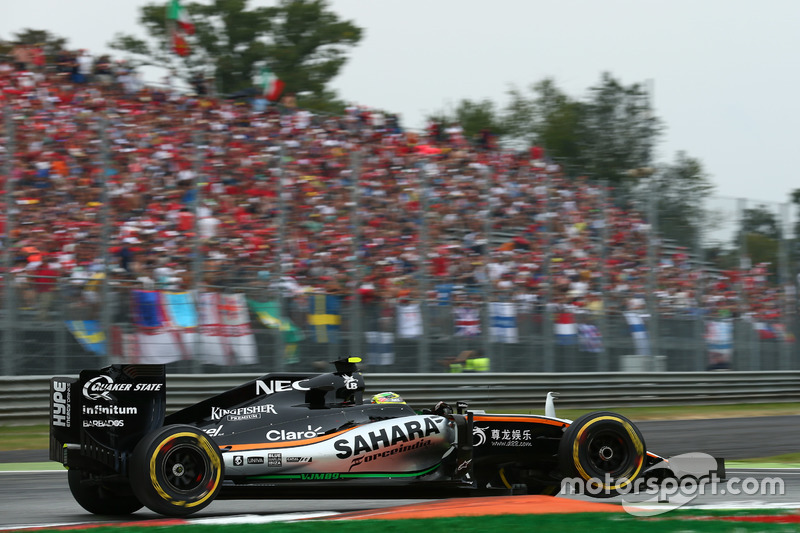 Sergio Perez, Force India F1 VJM09