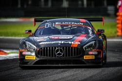 Mercedes-AMG GT3 команды HTP Motorsport: Максимилиан Бук, Джазман Джафар, Доминик Бауман