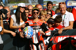 Марко Меландрі, Ducati Team, здобуває поул-позицію