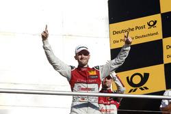 Champion Podium: Champion René Rast, Audi Sport Team Rosberg, Audi RS 5 DTM