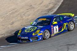 #8 Porsche GT4 Clubsport: Carter Yeung, Andy Lee