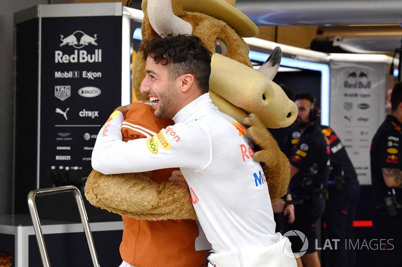 Даніель Ріккардо, Red Bull Racing, талісман Longhorns
