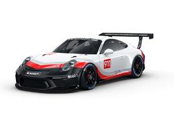 Novo carro da Porsche Cup