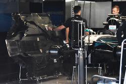 Mercedes AMG F1 under tray