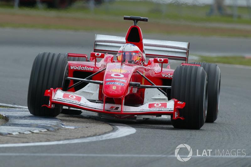 5: Rubens Barrichello: 224 grandes premios (el 69,35% de los disputados)