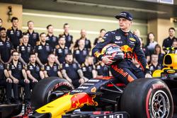 Max Verstappen, Red Bull Racing en la foto del equipo Red Bull Racing