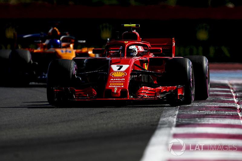 6. Kimi Räikkönen, Ferrari SF71H