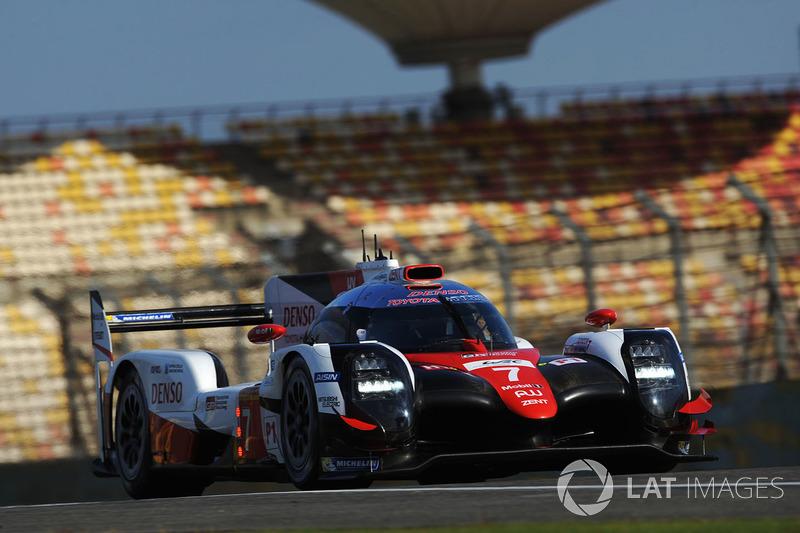 4. LMP1: #7 Toyota Gazoo Racing, Toyota TS050-Hybrid: