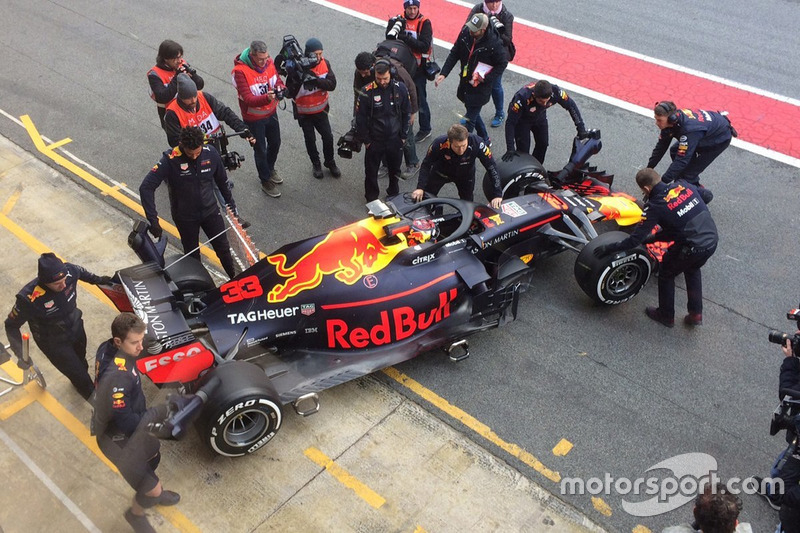Max Verstappen, Red Bull RB14