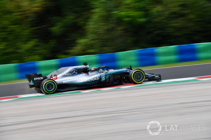 George Russell, Mercedes-AMG F1 W09