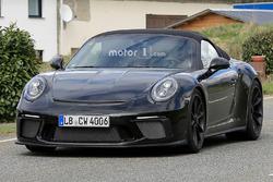 Porsche 911 Speedster casus fotoğrafı