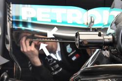 Vortex oluşturucu, Mercedes AMG F1 W09