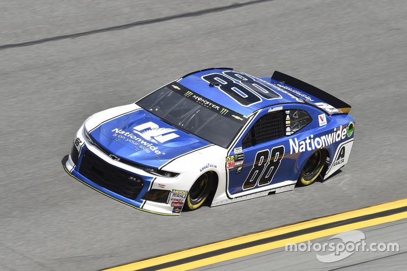 #88: Alex Bowman, Hendrick Motorsports, Chevrolet Camaro