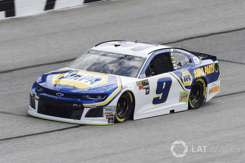 27. Chase Elliott, No. 9 Hendrick Motorsports Chevrolet Camaro
