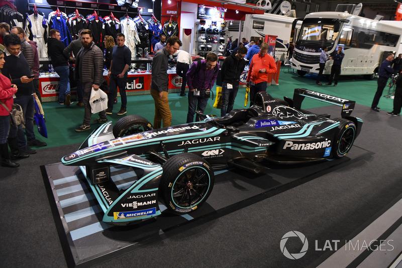 The Jaguar Formula E car