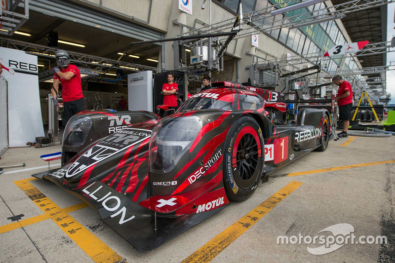 Bruno Senna: #1 Rebellion Racing Rebellion R-13