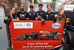 Ganadores del Red Bull Racing Pit Stop Challenge