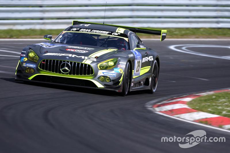 #29 HTP Motorsport, Mercedes-AMG GT3: Christian Vietoris, Marco Seefried, Christian Hohenadel, Renger van der Zande