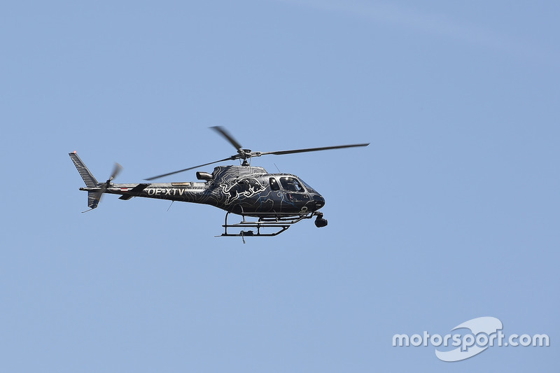 Red Bull TV helicopter
