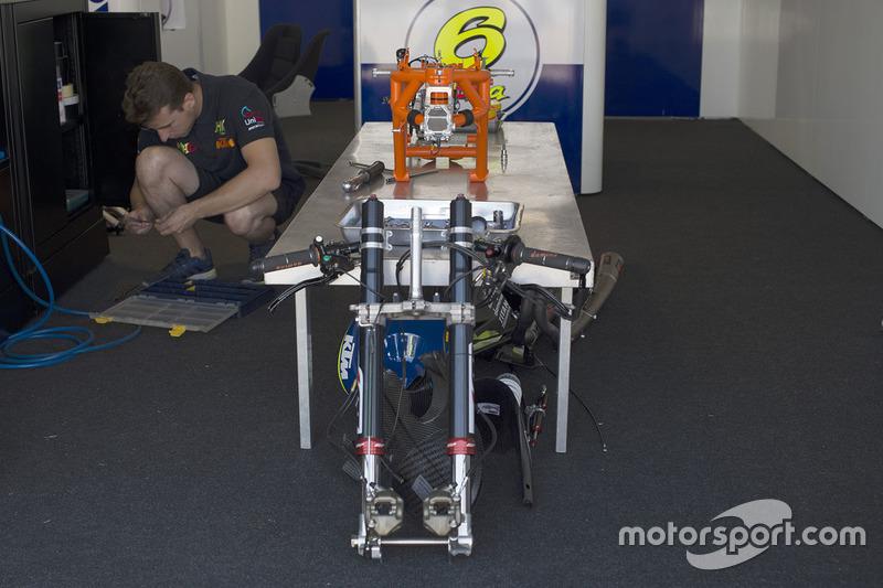 La moto di Maria Herrera, MH6 Laglisse