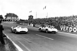 Karl Kling and Juan Manuel Fangio, Mercedes-Benz W 196 R