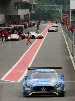 #00 AMG Team Black Falcon, Mercedes AMG GT3: Bernd Schneider, Yelmer Buurman, Maro Engel