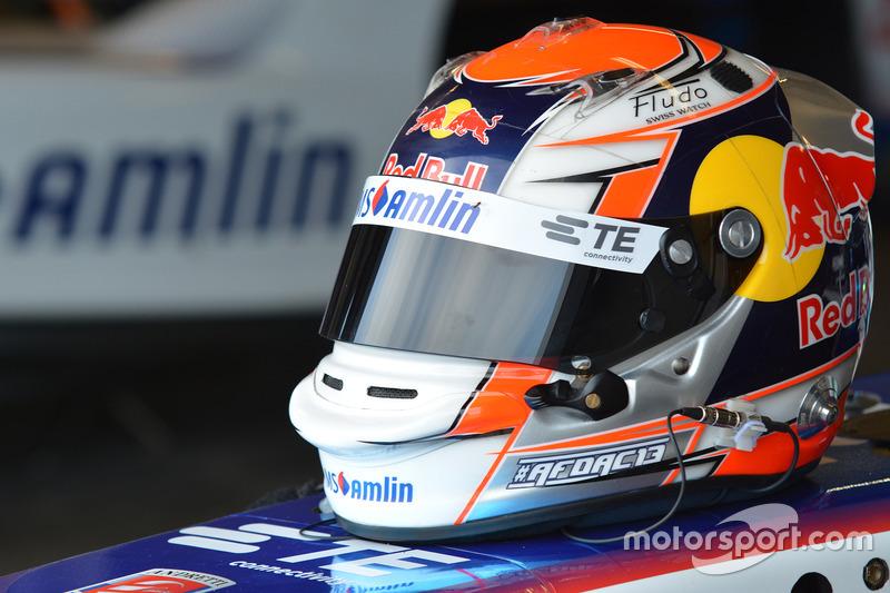 Casco di Antonio Felix da Costa, Amlin Andretti Formula E Team