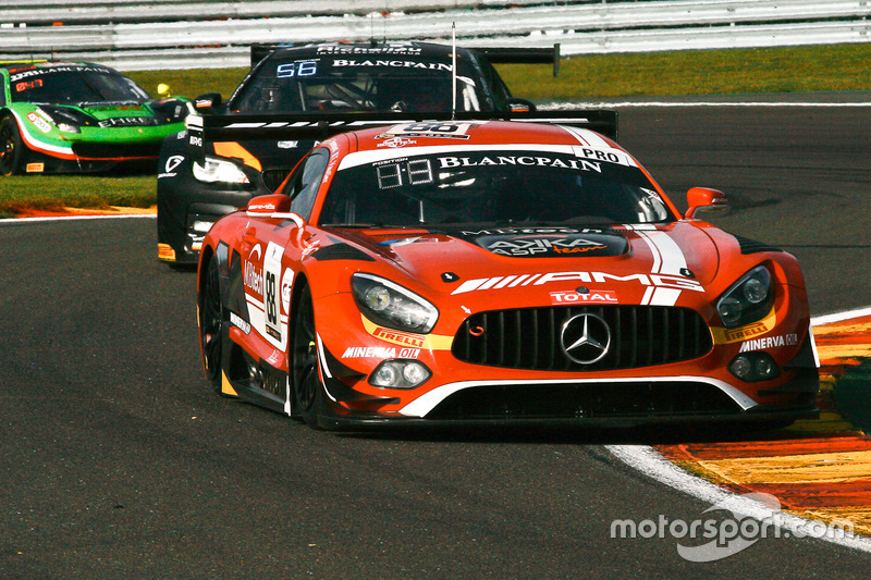 #88 AMG - Team AKKA ASP Mercedes-AMG GT3: Tristan Vautier, Felix Rosenqvist, Renger Van der Zande