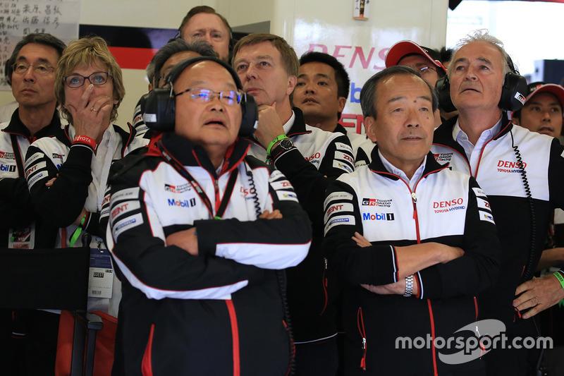 Teammitglieder von Toyota Racing