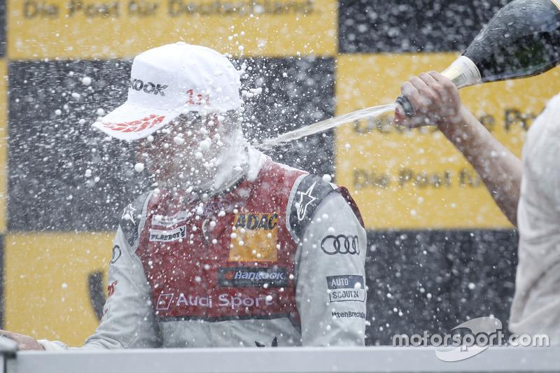 Podyum: Nico Müller, Audi Sport Team Abt Sportsline, Audi RS 5 DTM