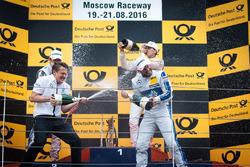 Podium: Gary Paffett, Mercedes-AMG Team ART, Mercedes-AMG C63 DTM; Robert Wickens, Mercedes-AMG Team HWA, Mercedes-AMG C63 DTM