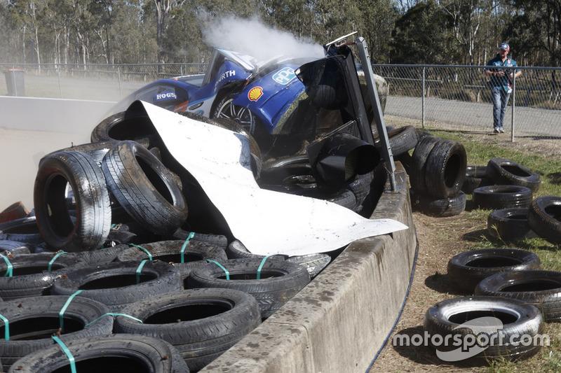 Unfall: Scott Pye, DJR Team Penske