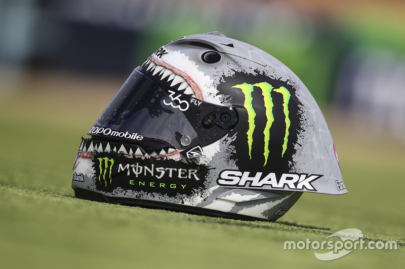 Casco Shark de Jorge Lorenzo, Yamaha Factory Racing