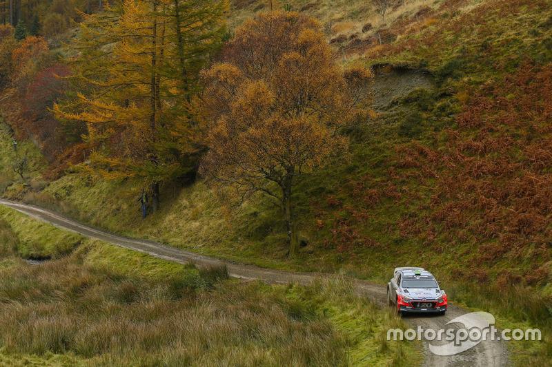 Hayden Paddon, John Kennard, Hyundai i20 WRC