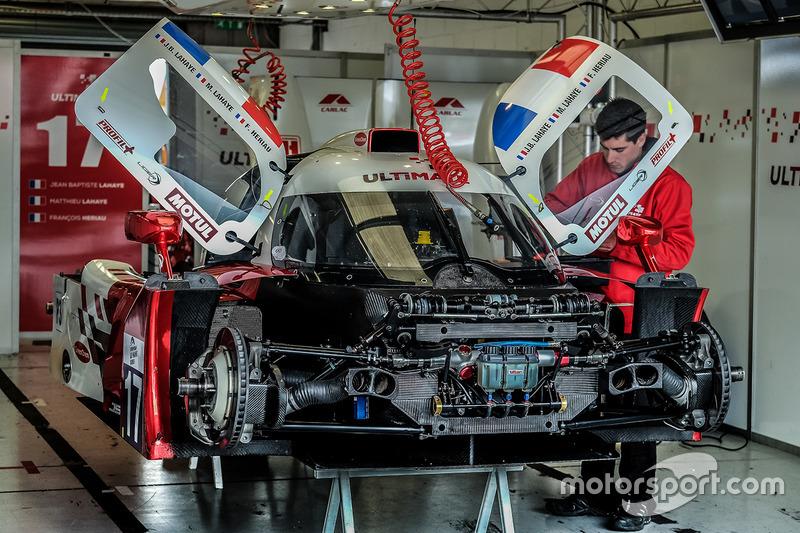 #17 Ultimate Ligier JS P3 - Nissan: Jean-Baptist Lahaye, Mathieu Lahaye, François Heriau
