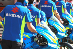 Bikes of Team Suzuki MotoGP