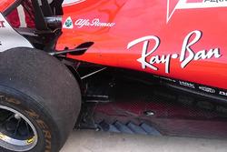 Ferrari SF70H gills detail