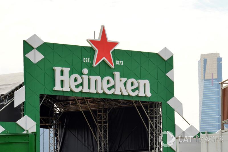 Heineken stage