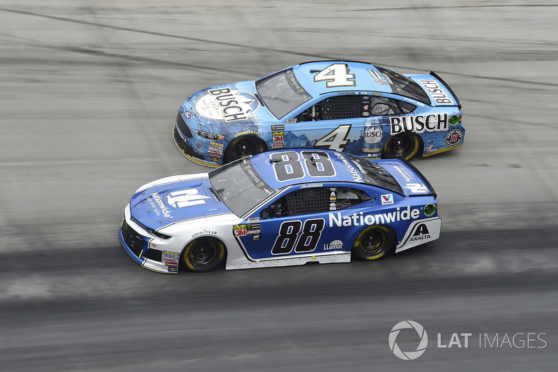 Alex Bowman, Hendrick Motorsports, Chevrolet Camaro Nationwide, Kevin Harvick, Stewart-Haas Racing, Ford Fusion Busch Beer